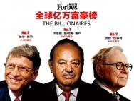 全球亿万富豪地图出炉!中国富豪平均56岁,有钱人最多的城市是?